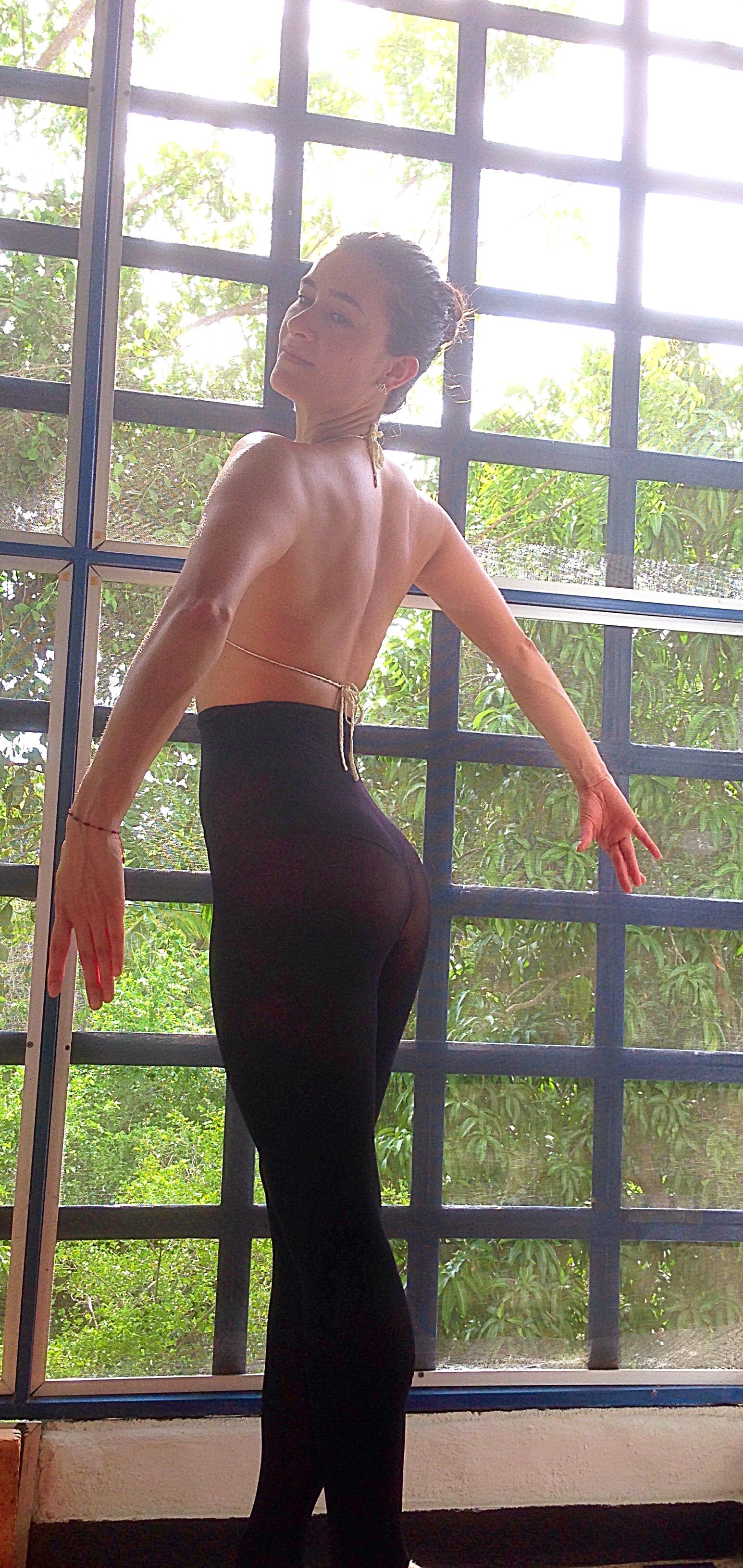 cintura ejercicios en casa