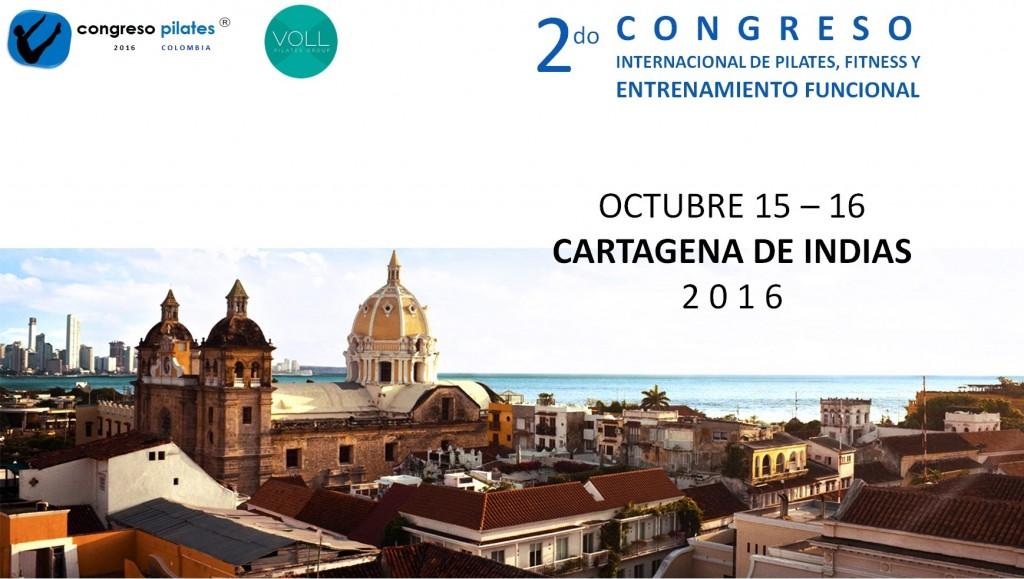 publicidad congreso internacional de pilates Colombia