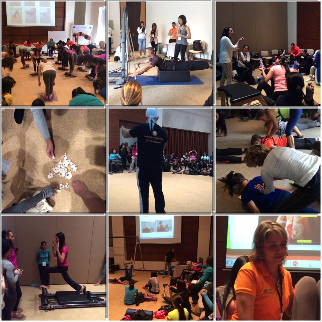 workshops del primer congreso internacional de pilates colombia