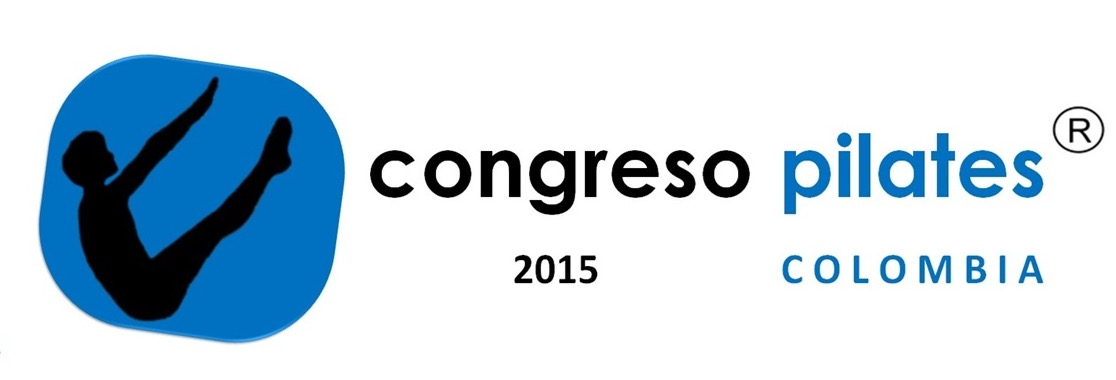 logo del primer congreso internacional de pilates Colombia