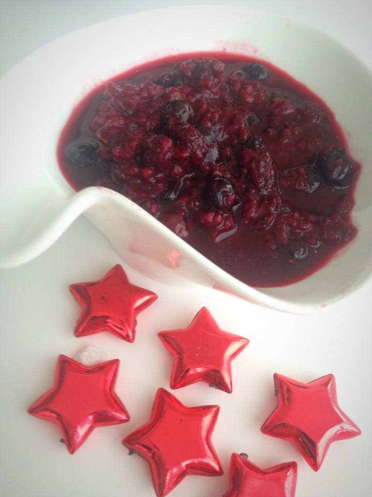 mermelada de frutos rojos