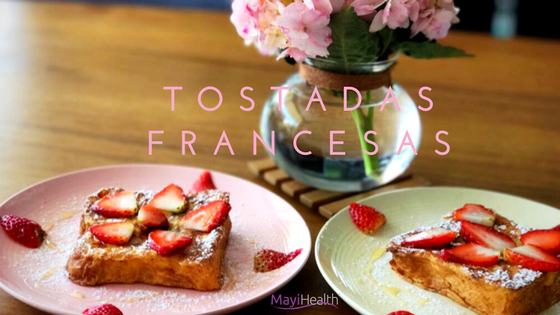 receta para preparar tostadas francesas