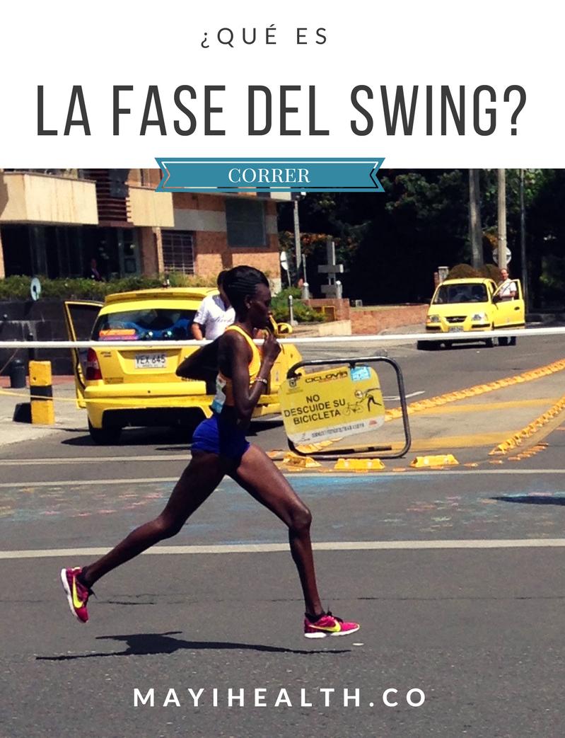 Qué es la fase del swing al correr